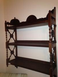 Antique wall shelf