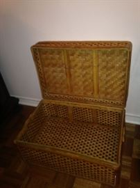 Woven chest