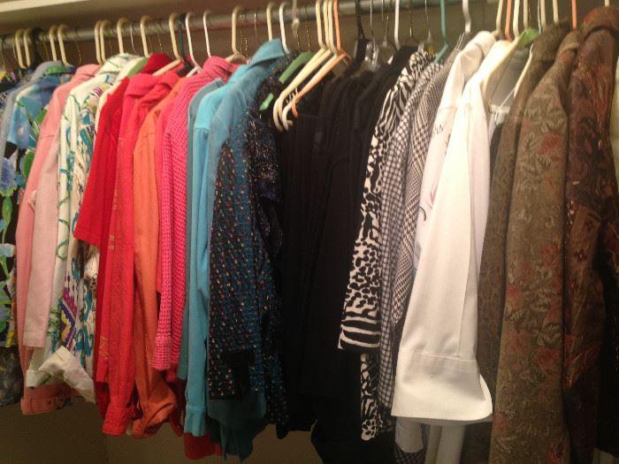 Numerous clothes