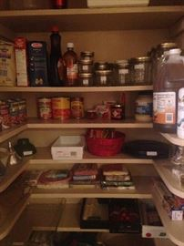 Pantry supplies