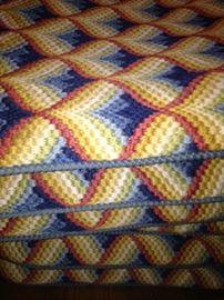 Set of 6 needlepoint cushions