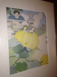 """""""Peter, Peter Pumpkin Eater""""  by Blanche Fisher Wright"""