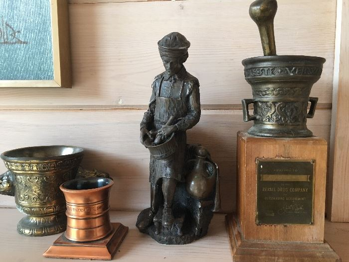 More vintage and antique pharmacy and apothecary items
