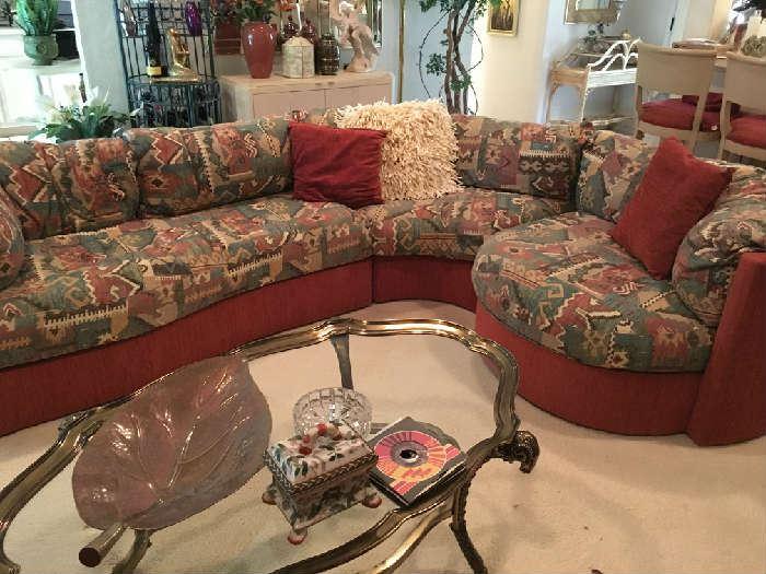 Large custom made Sofa