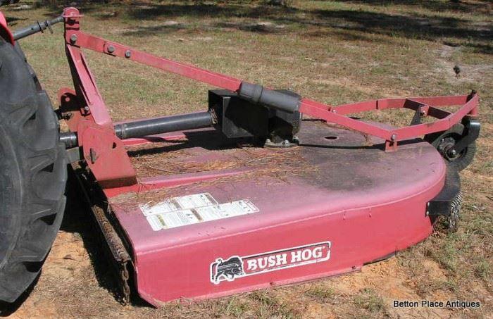 Mower is Bush Hog model 296 Mower