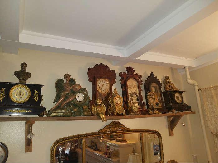 Lots of clocks