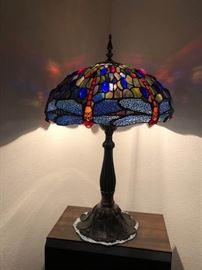 001 Paul Sahlin Original Tiffany Lamp