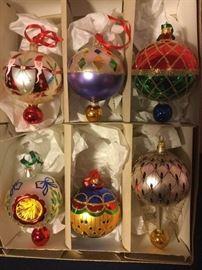 007 Radko Round Ornaments