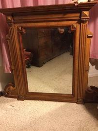 010 Beautiful Antique Mirror