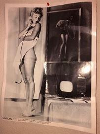Marilyn Monroe Nude Centerfold