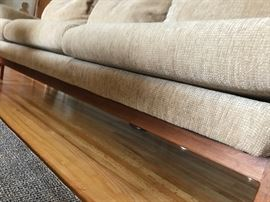Arden Riddle Sofa (has been reupholstered)