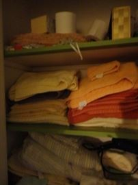 LINENS AND TOWELS