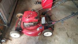 Lawnmower Electric Start Toro