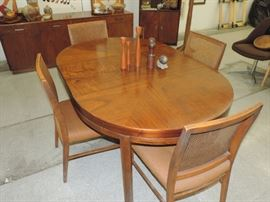 Mid-Century DR Table and Chairs