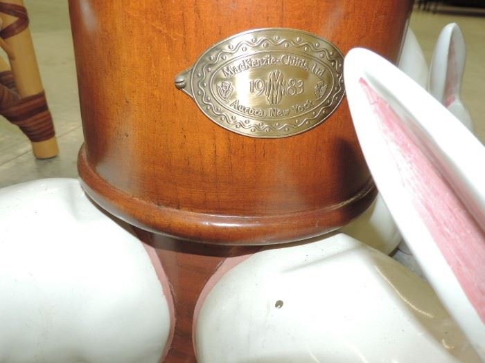 MC Metal Stamp on RABBIT Floor Lamp