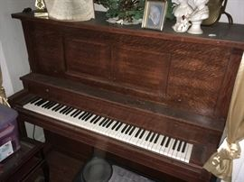 PIANO REMOVED FROM SALE BY FAMILY