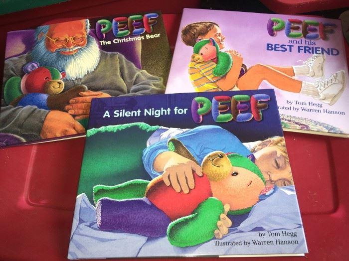 PEEF THE BEAR BOOKS