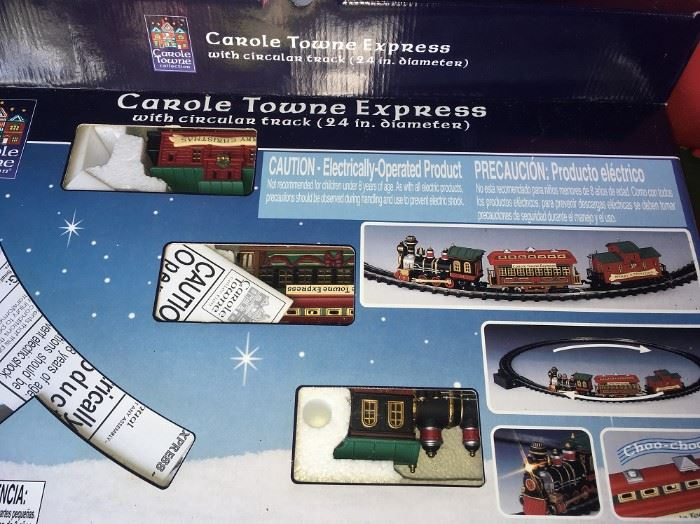CAROLE TOWN EXPRESS TRAIN