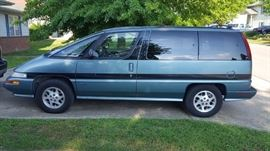 1995 OLDSMOBILE SILHOUETTE, 114,xxx Miles, 3.8L, good tires, sells at 11:00 a.m.