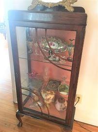 Nice art deco display cabinet