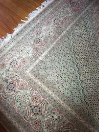 Persian Tabriz area rug