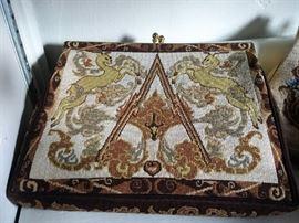 Fine tapestry handbags