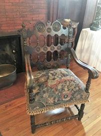 Fabulous king's chair