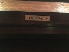 Vintage Baldwin piano