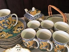 Lovely Kutani tea set