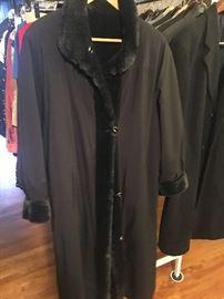 St. John reversible coat