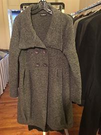 Fine Italian sweater coat