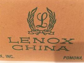 New set of china - still in original packaging