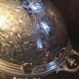 A wonderful example of aesthetic period silverplate