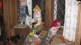 Hudson's Store Display Aminated Gnomes
