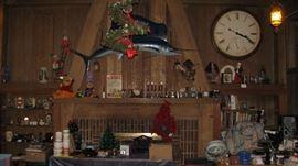 Huge Herman Miller Clock, Swordfish