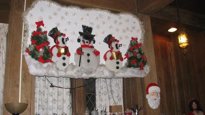 Huge Christmas Wall Hanging Display