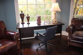 Crate & Barrel desk & chair