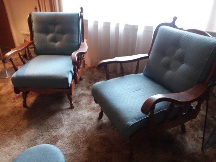 Mersman Co. mid century chairs