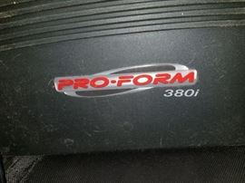 Treadmill, Pro-Form 380i, spacesaver
