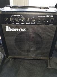 Bass Amplifier (Ibanez) model IBZ15B