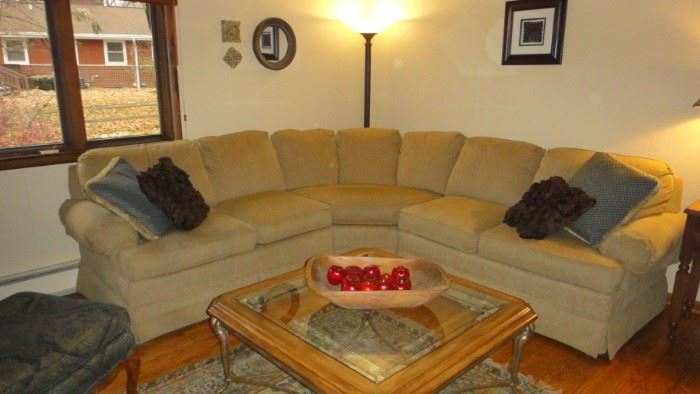 "Sectional Sofa, "" Thomasville"""