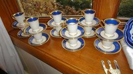Lenox Demitasse Cups, set of 12