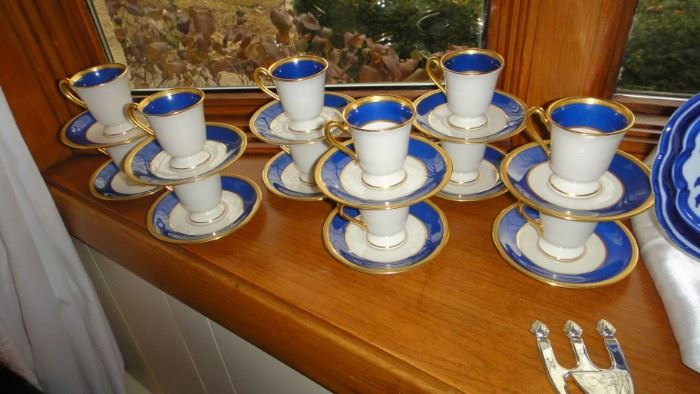 Lenox Demitasse Cups, set of 12