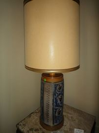 Paul Hanson, Vintage Porcelain Lamp