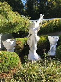 Statue # 27 ~ One of the Garden Statues Being Offered & Planters