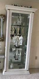Curio Cabinet - Glass Front  Door w/ Side Openings  - 1 of 4