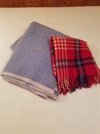 2 Warm Wool Blankets