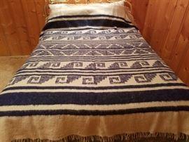 Beautiful Guatemala Wool Blanket