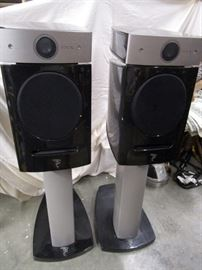 Focal Diablo Utopia Speakers on Stands