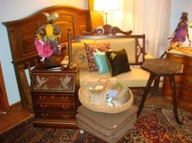 Settee and Mallard Chest Sold